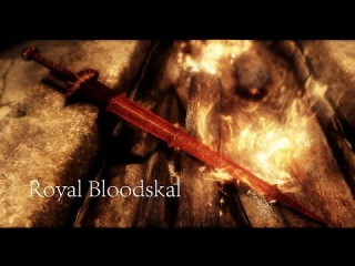 Skyrim - Пожалуй лучшее оружие в этой игре Бладскал