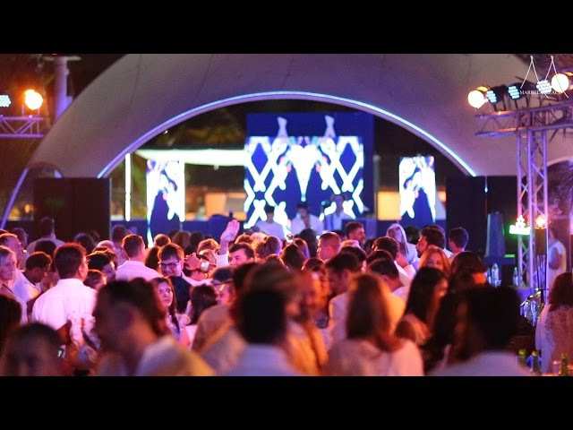 Marbela Beach Goa. The WHITE PARTY 2016 / Марбела Бич Гоа Белая Вечеринка 2016