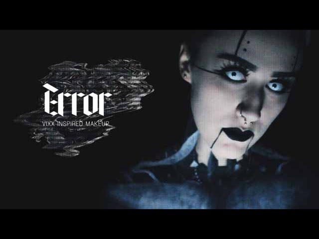 KPOP HALLOWEEN EP10 VIXX ERROR INSPIRED MAKEUP