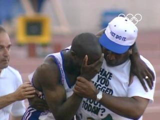 Мотивационный ролик про Дерека Энтони Редмонда Derek Redmond | Olimpiadas de Barcelona 1992