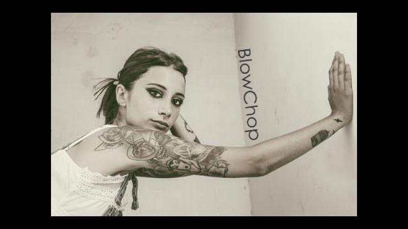 TATTOO - Black Arm Tattoo sexy girl 18 2016 Девушка с татуировкой