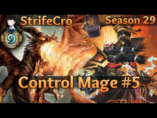 Hearthstone Control Mage S29 4: Packin Ice