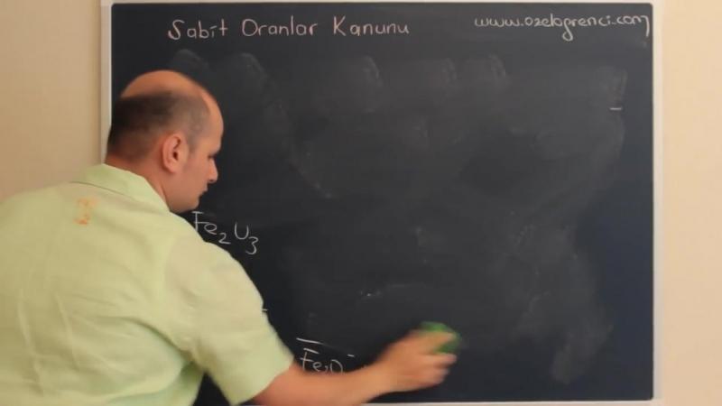 Kimya -Sabit Oranlar Kanunu Ders Videosu- Tek Part Full HD