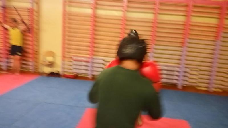 Тренировка ребят! Макс vs Антон