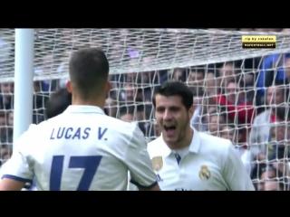 Чемпионат Испании 2016-17 23-й тyp Реал Мадрид - Эспаньол 1 тайм (18.02.2017)