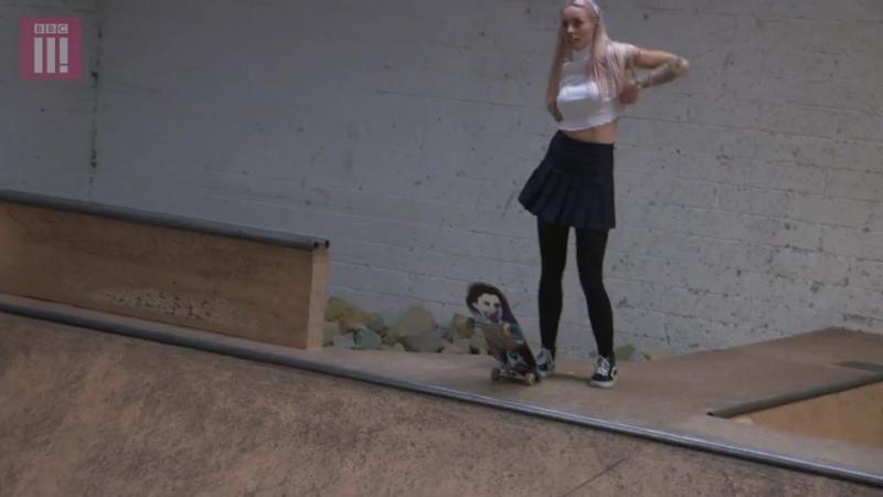 Skate Like A Girl Stefani Nurding