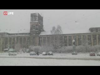 В Карелии за ночь выпало 30 см снега