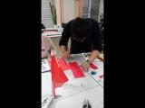 майстер-клас з китайсько калграф