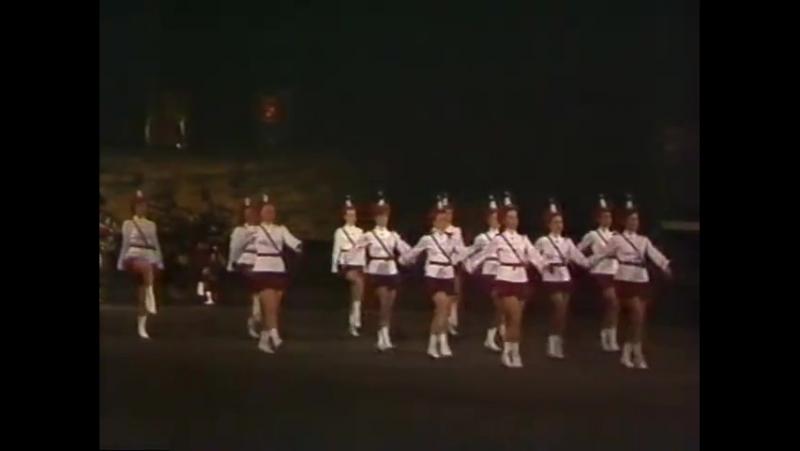 Lochiel Marching Team Edinburgh Military Tattoo 1983 - Christine Knox.avi