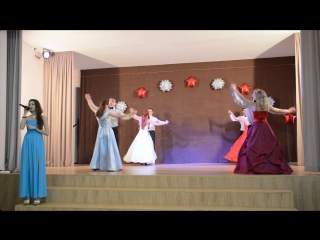 Алина Савкина и ансамбль бального танца - Зимний вальс