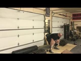 Брайан Шоу (США), становая тяга без экипировки - 469 кг, подготовка к АК - 2017?