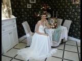 Бэкстейдж съемки для журнала All Weddings