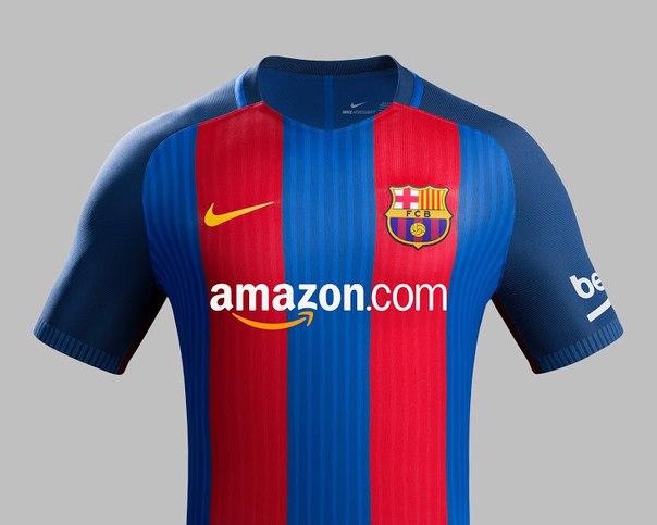 Amazon может стать титульным спонсором «Барселоны»