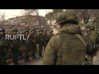 Syria_ Russian International Mine Action Centre opens campus in Aleppo