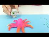Творческие занятия с Тосей! Осьминожка из ниточек! Простые поделки для детей