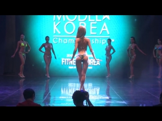 Musclemania Fitness Korea Sports Model Bikini Model Competition Body Profile Video