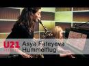 Asya Fateyeva mit dem Hummelflug bei U21 VERNETZT