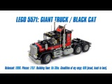 LEGO Classics: LEGO 5571 Model Team: Giant Truck / Black Cat Speed Build & Review