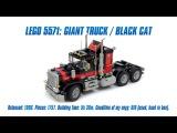 LEGO Classics: LEGO 5571 Model Team: Giant Truck / Black Cat Speed Build & Review