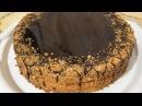 Торт Медовик со сметанным кремом шоколадной глазурью грецкими орехами мой вкусный домашний рецепт