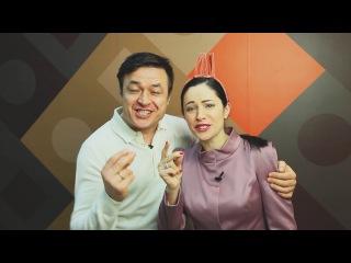 Поздравление с Новым Годом от Любови Тихомировой и ее супруга.