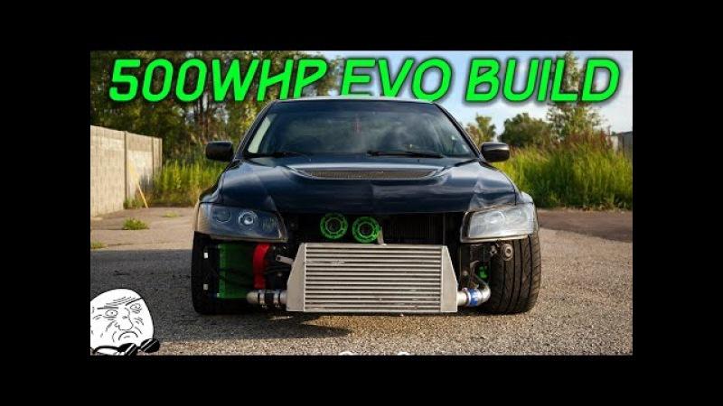 500WHP Voltex EVO Build Progress