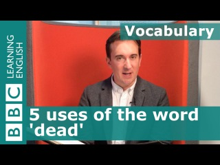 Vocabulary: 5 uses of 'dead' - The Hound of the Baskervilles