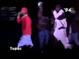 Tupac And Notorious B.I.G Rare freestyle 2 Legends Most Respected