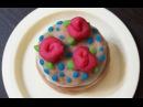 Еда для кукол из самодельного плей до или теста для лепки / play doh своими руками