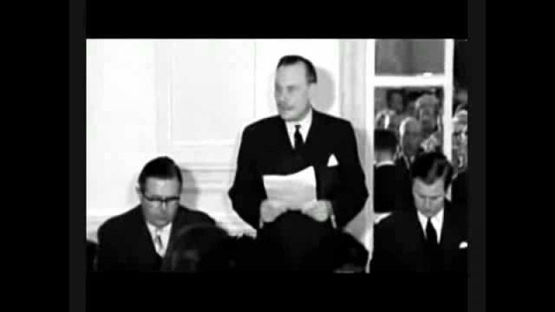 Enoch Powell's Rivers Of Blood Speech