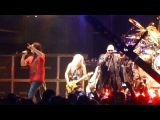 Rob Halford, Stephen Pearcy, Taime Downe, Mark Slaughter w Hairball - 7-20-2016 - Brandon, SD