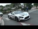 Supercars In Monaco - Zenvo, LP640's, Nismo GTR more!!