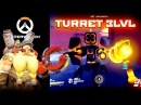 How to make regular lvl3 turret in Overwatch