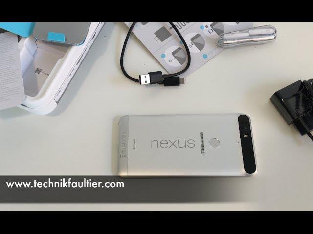 Google Nexus 6P Unboxing und erster Eindruck