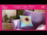 How to Crochet A Pillow Corner to Corner C2C Left Handed