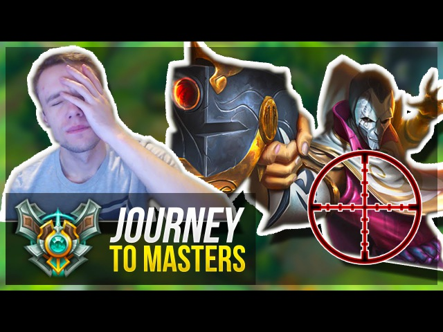 THE MOST TILTING GAME! | Journey To Masters 21 - League of Legends