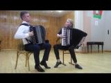 Э. Григ - Норвежские танцы (исп. Михаил Волчков и Дарья Шнып)