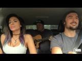 Крутые ребята, поют песни в машине(Justin Bieber - Love Yourself - When I Come Around MASHUP )