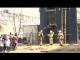 Как работают спасатели. В преддверии профессионального праздника пожарной охраны России состоялся показ спец. техники
