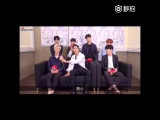 160729 @ GOT7 на интервью Sina для