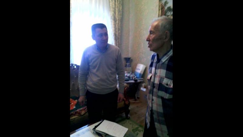 Қирабаев Серік ағамен
