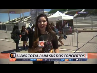 170311 BTS in Chilean News for The Wings Tour in Santiago @ T13