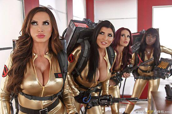 ZZSeries – Nikki Benz, Monique Alexander, Romi Rain, Ana Foxxx – Ghostbusters XXX Parody Part 4