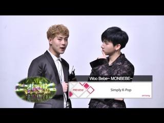 VK170404 Preview MONSTA X @ Simply K-Pop