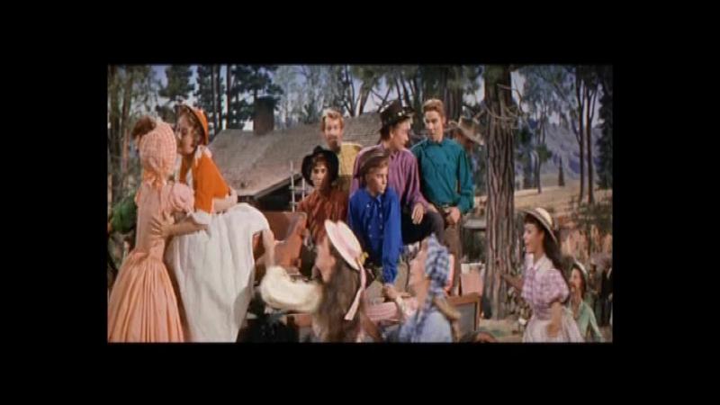 Семь невест для семи братьев / Seven Brides For Seven Brothers (Стэнли Донен / Stanley Donen) [1954]