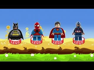 Мультфильм. Киндер Сюрприз Лего Супергерои. Kinder Surprise Lego Superheroes.