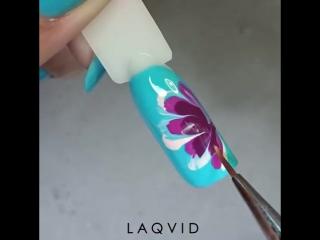 Как быстро нарисовать цветок