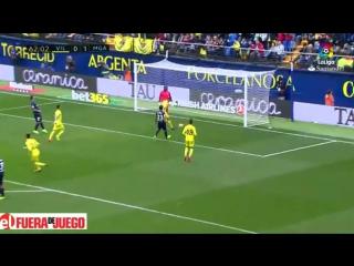Resumen Villarreal 1 - 1 Malaga - Jornada 22