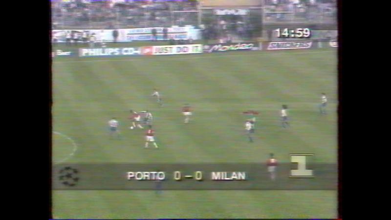 91 CL-1993/1994 FC Porto - AC Milan 0:0 (13.04.1994) HL