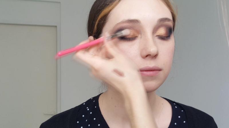Елена Полянская - макияж на модели - Алёна